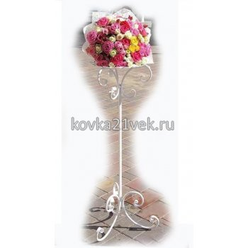 Стойка кованая для свадьбы под цветы